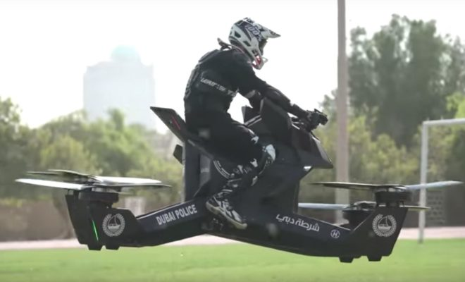 Dubai Police Force Hoverbikes