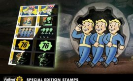 Bethesda's Fallout 76 Glow-in-the-Dark Collectible Postage Stamps