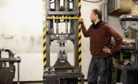 40 Ton Hydraulic Forging Press