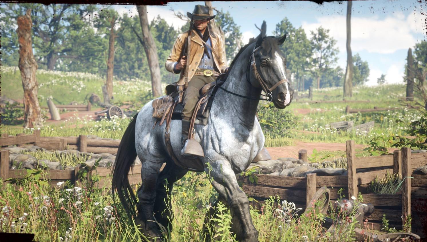 Red Dead Redemption 2 war horse