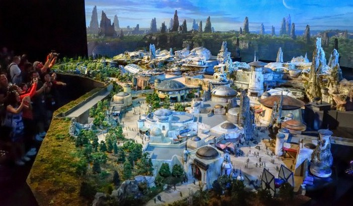 Disney Star Wars Theme Park