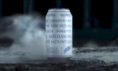 Mountain Dew's Limited-Edition Game Of Thrones Can