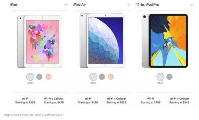 iPad Air 2019 vs. iPad Pro 2018 vs. iPad 2018