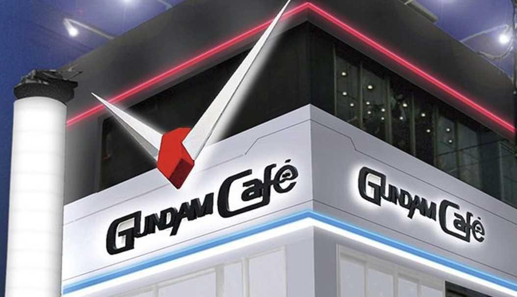 GUNDAM Cafe Opened in Japan