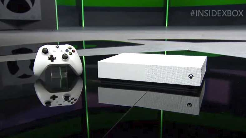 Disc-Less Xbox One