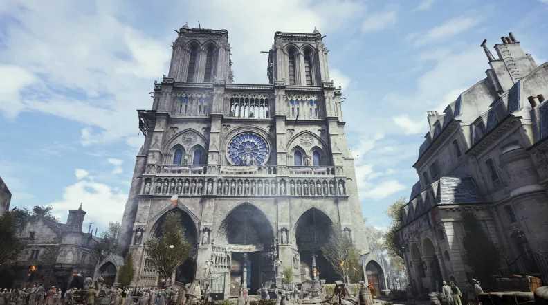 Notre-Dame Cathedral Restoration