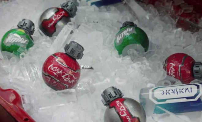 STAR WARS-Inspired Thermal Detonator-Shaped Coke Bottles