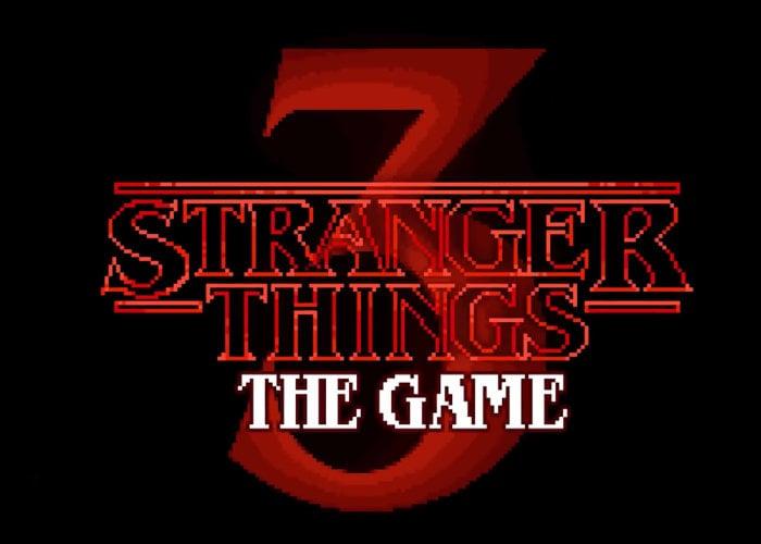 teaser trailer of stranger things 3 the game