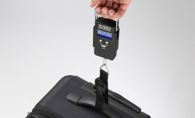 Digital luggage scale