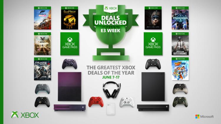 Xbox's Big E3 Sale