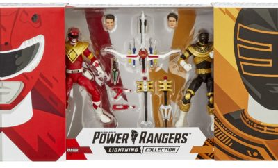 POWER RANGERS Lightning Figures as Comic-Con
