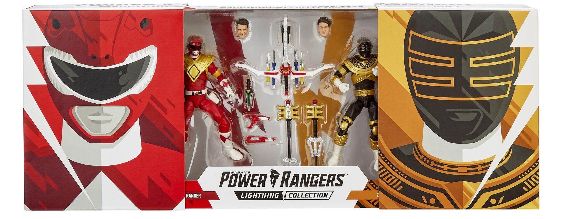 POWER RANGERS Lightning Figures as Comic-Con