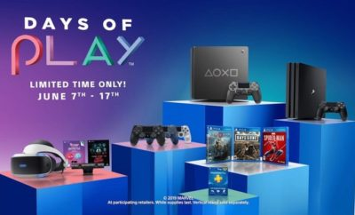 Sony's Days Of Play Sales