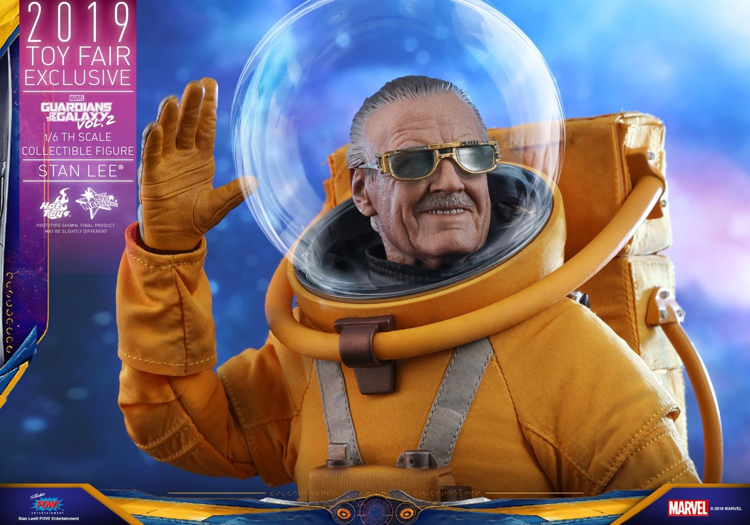Hot Toys Stan lee Toy