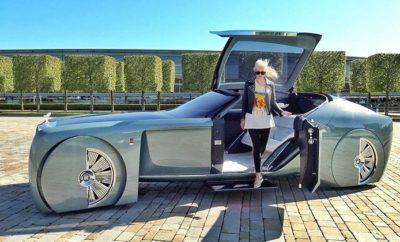 Rolls Royce's Self-Driving Concept Car