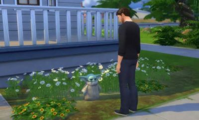 Baby Yoda Sims 4