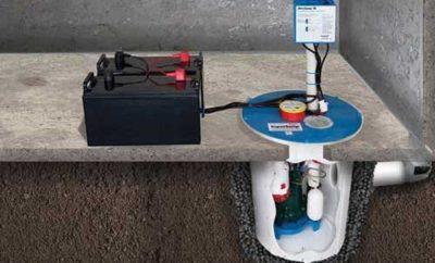 Sump Pump Battery