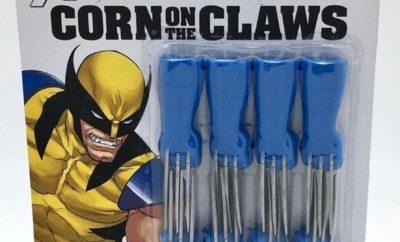 X-Men Wolverine Corn on the Claw Cob
