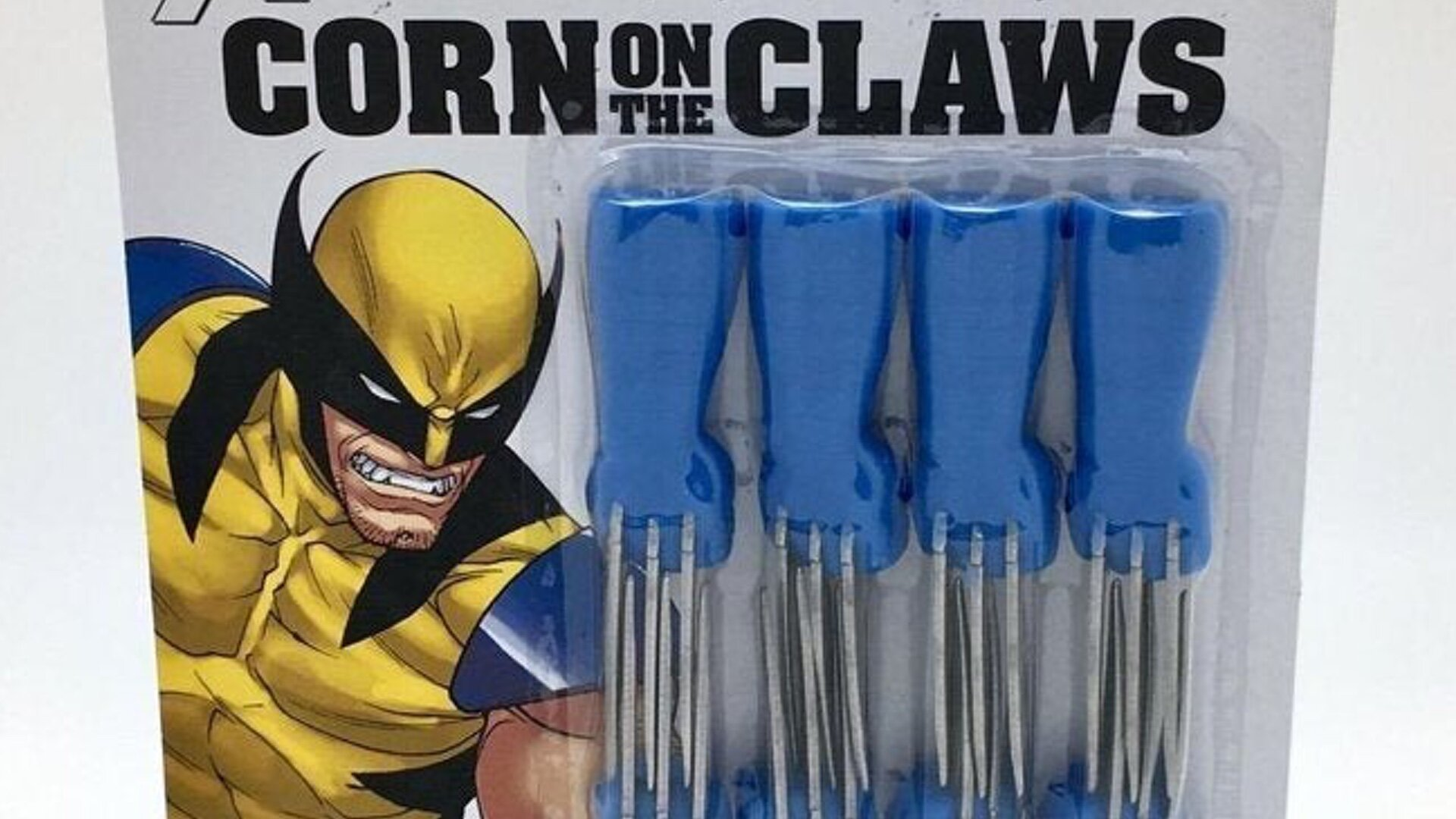 X-Men Wolverine Corn on the Claw Cob