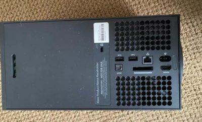 Xbox Series X Back Panel