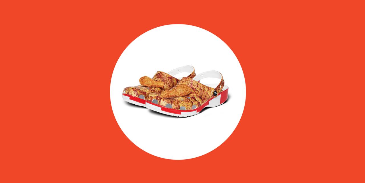 Fried Chicken Clogs